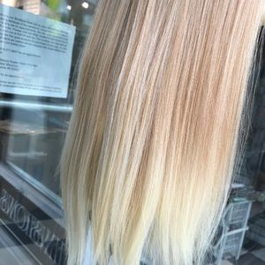 Accessories - Blonde 360 wig Fullcap wear ponytail Alopecia 2019